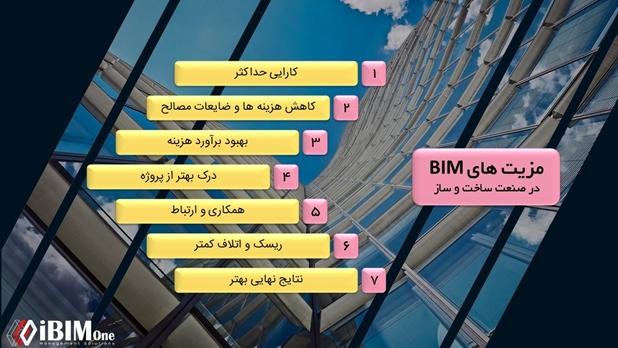 7 مزیت استفاده از BIM (بیم) در ساخت و ساز